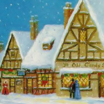 christmas-village-iphone-wallpaper