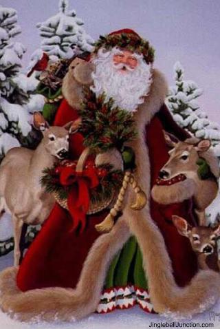 Holiday Christmas Santa Father Christmas Santa S
