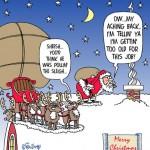 Santa's Aching Back