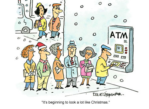 Christmas at the ATM