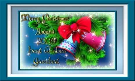 Merry Christmas Award 2006