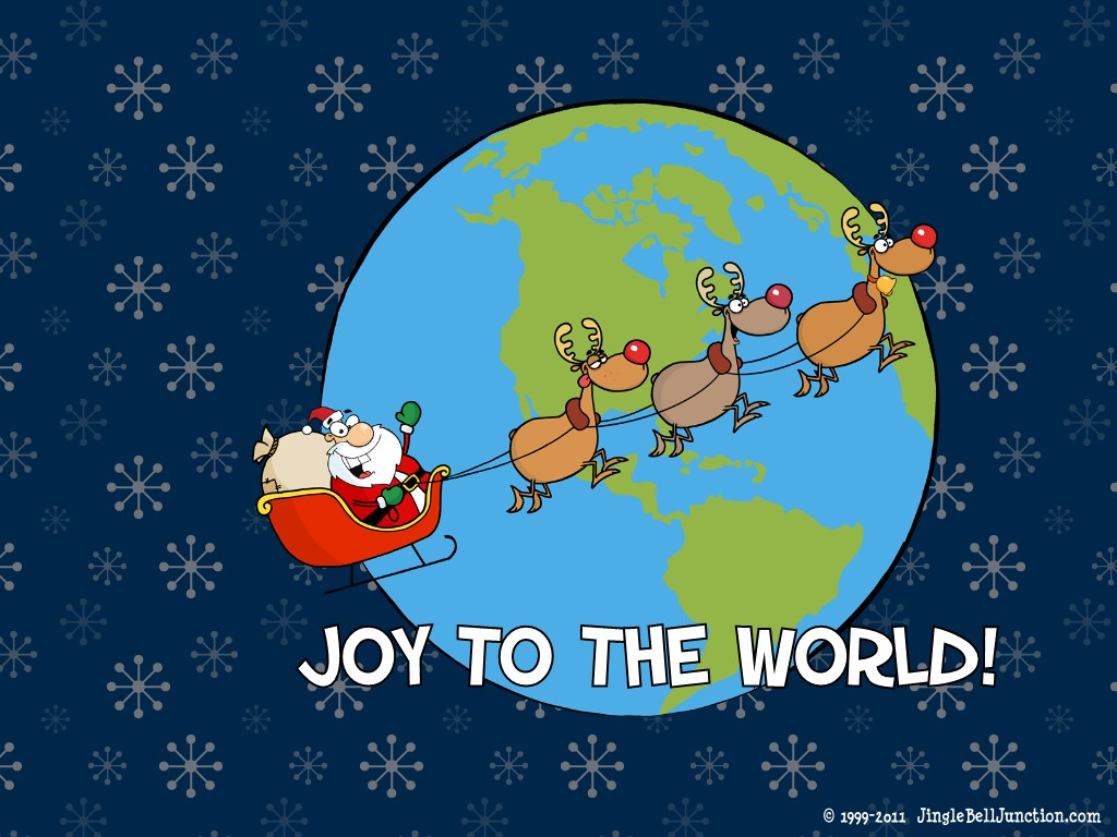 Christmas Desktop Wallpaper Jinglebell Junction