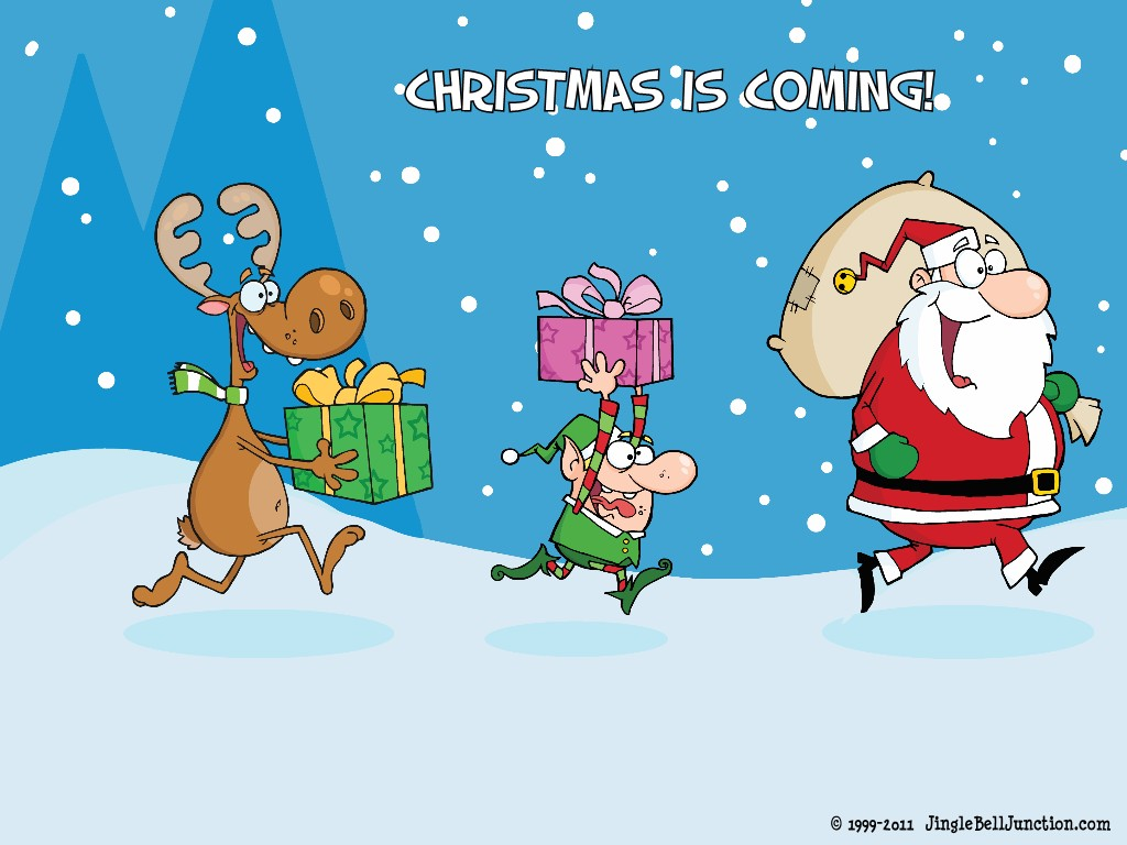 Christmas desktop wallpaper jinglebell junction - Free funny christmas desktop wallpaper ...