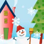 snowman-iphone-wallpaper
