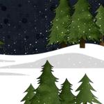 snowyforest-iphone-wallpaper