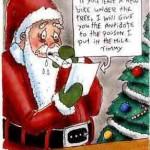 Santa Blackmail