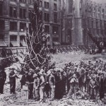 First Rockefeller Center Tree 1931